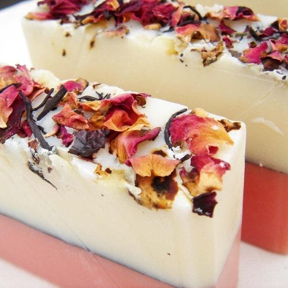 True Rose Soap Handmade Cold Process, Vegan Friendly