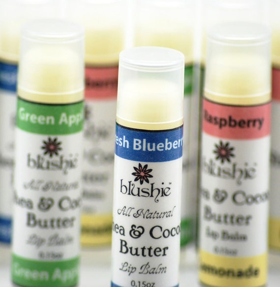 Trio of Lip Balms, Your Choice of Flavor