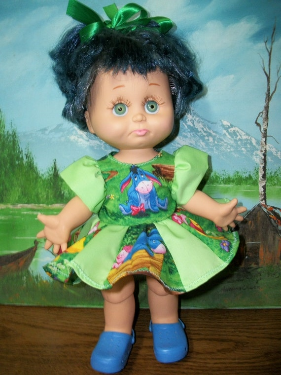 Reserved for Genevieve Galoob Baby Face Doll  Number 6 - Green Eyed Sarah