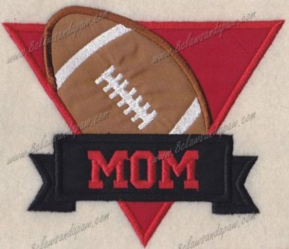 Football Mom Applique (Small)