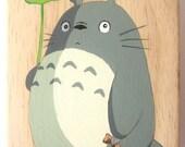 My Neighbor Totoro Hand Paint wood Box Studio Ghibli 5