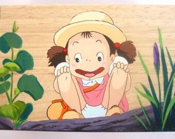 My Neighbor Totoro Hand Paint wood Box May Jung Studio Ghibli