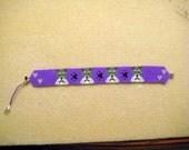 Purple Schnauzer Bracelet