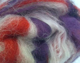 Art Batt, Royal Robe 1 for spinning and felting