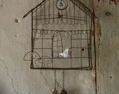 Cuckoo in wire - Made with order