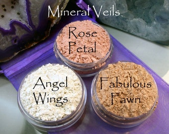 Vegan Mineral Veil 20 Gram Sifter Jar Now Available in 3 Colors