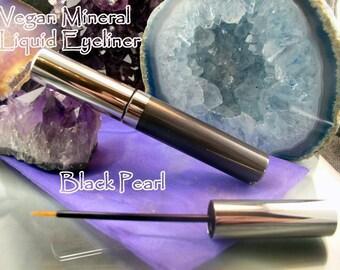Vegan Gel Eyeliner - Black Pearl