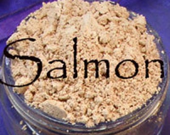 Salmon Vegan Concealer 10 Gram Jar apprx. 5 grams of powder