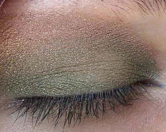 Vegan Mineral Eye Shadow Olive U 5 gram jar ( apprx. 2 grams)