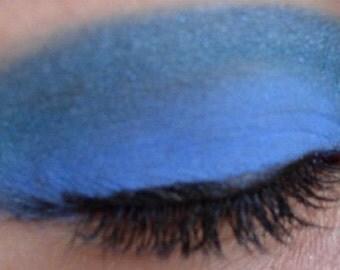 Vegan Mineral Eye Shadow Iridescent Blue 5 gram jar ( apprx. 2 grams)