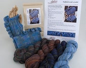 Ruffled Crocheted Wristlets Kit