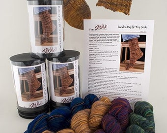 Rockton Ruffle Top Sock Knitting Kit