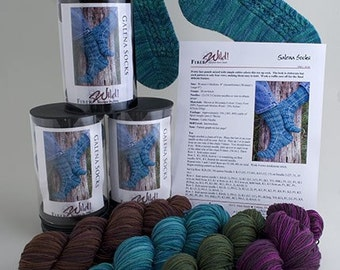 Galena Sock Knitting Kit