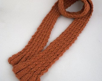 Two By Two Scarf Knitting Pattern - PDF