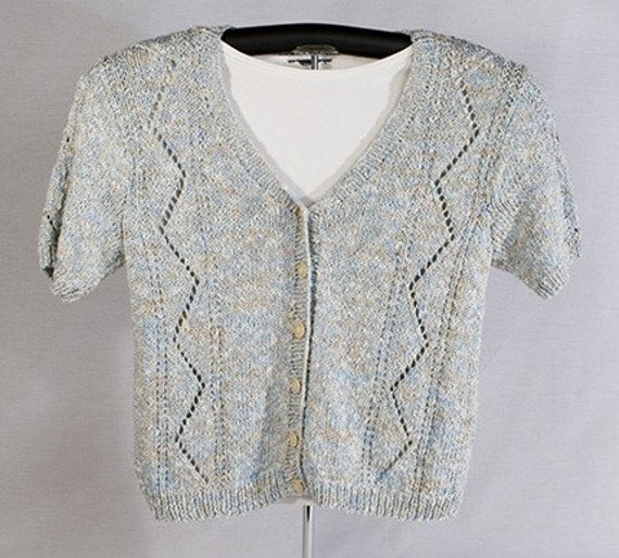 Savanna Lace Cardigan Knitting Pattern PDF