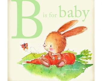 B is for Baby Print