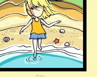 l'ete - a.k.a. Summer Girl