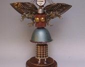 Radar Angel Steampunk Fairy Art Doll