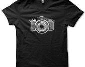 Camera Eye - The old lens sees- Urbarian Organic Tshirt  XS- S- M -L-XL-XXL - Free Shipping Order Now