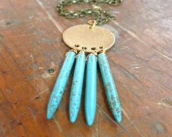 Fringe Necklace Bohemian Necklace