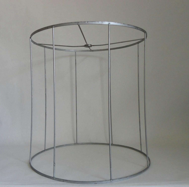 clean slate vintage metal lamp shade frame for recovering. Black Bedroom Furniture Sets. Home Design Ideas
