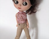 Blythe  blouse and trousers dress set