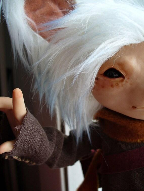 Celestine - Storykeeper - art doll