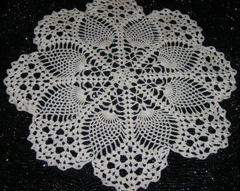 Pineapple Crochet Doily Patterns