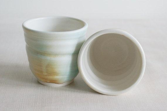 Ceramic Wine Cups Tumblers Set of 2