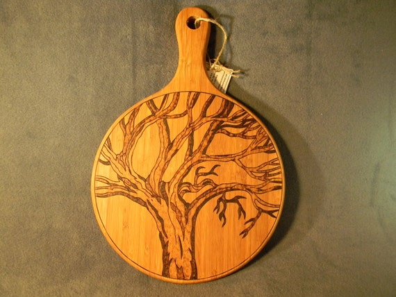 Cuting/Cheese/Serving Board - Majestic Tree