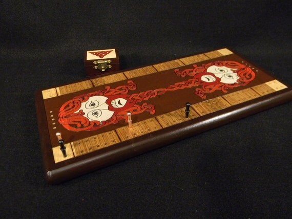 Cribbage Board - Face Off