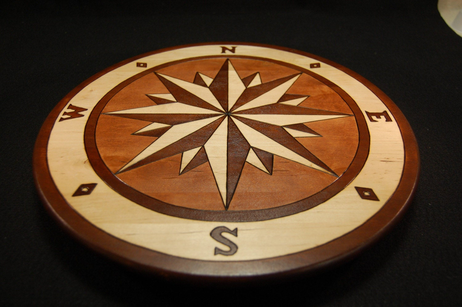 Lazy Susan Mariner S Compass