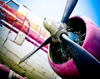 C-160 Military Transport Airplane Fine Art Print
