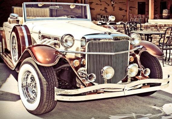 1930's Duesenberg Model Kit Car Photography, Automotive, Auto Dealer, Classic Car, Mechanic, Boys Room, Garage, Dealership Art