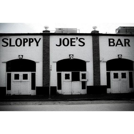 Sloppy Joes Bar Key West Fine Art Print - Travel, Scenic, Landscape, Nature, Home Decor, Zen