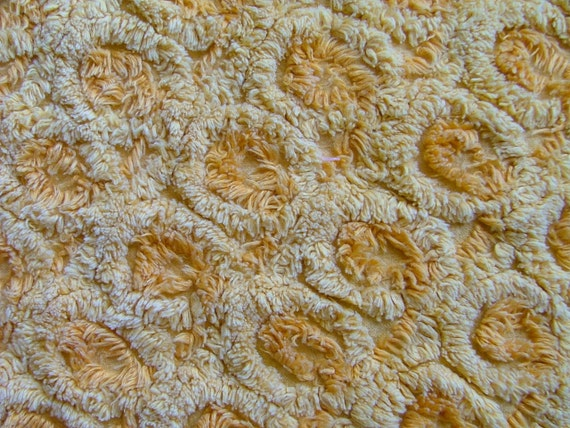 Vintage chenille fabric 31in x 19in