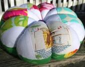 Large Patchwork Pincushion in Designer Fabrics