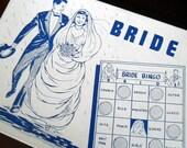 Vintage Bride Bingo Set