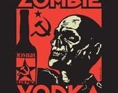 Zombie Vodka unisex t-shirt size S-4XL