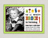 Monster Birthday Invitation