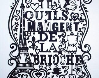 City Series no.3 - Paris. Laser-cut.