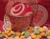 Valentine heart Soap Gift Set