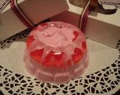 Delicious Strawberry Soap Cake