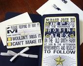 Custom Rockstar Invitation - Set of 100
