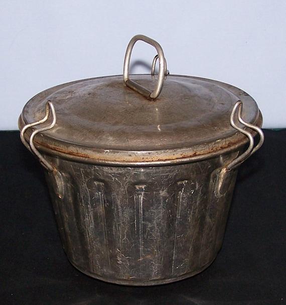 Vintage Pudding Mold Steamed Pudding