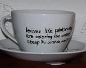 original tea haiku-teacup   leaves like paintbrushes