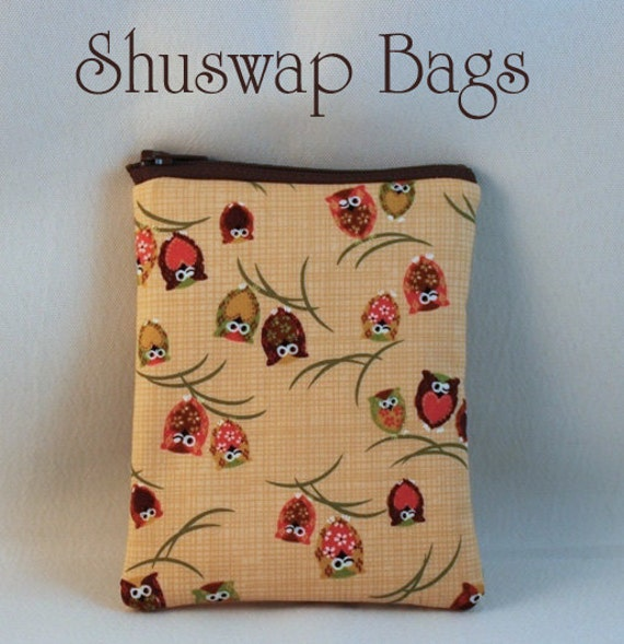 Shuswap Bags Owl Blackberry Ipod Gadget or iphone Case