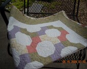 Snowball Baby Quilt or Wall Hanging