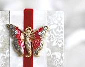 Photo Album with Christmas Angel