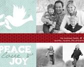 Rejoice - Custom Photo Holiday Card